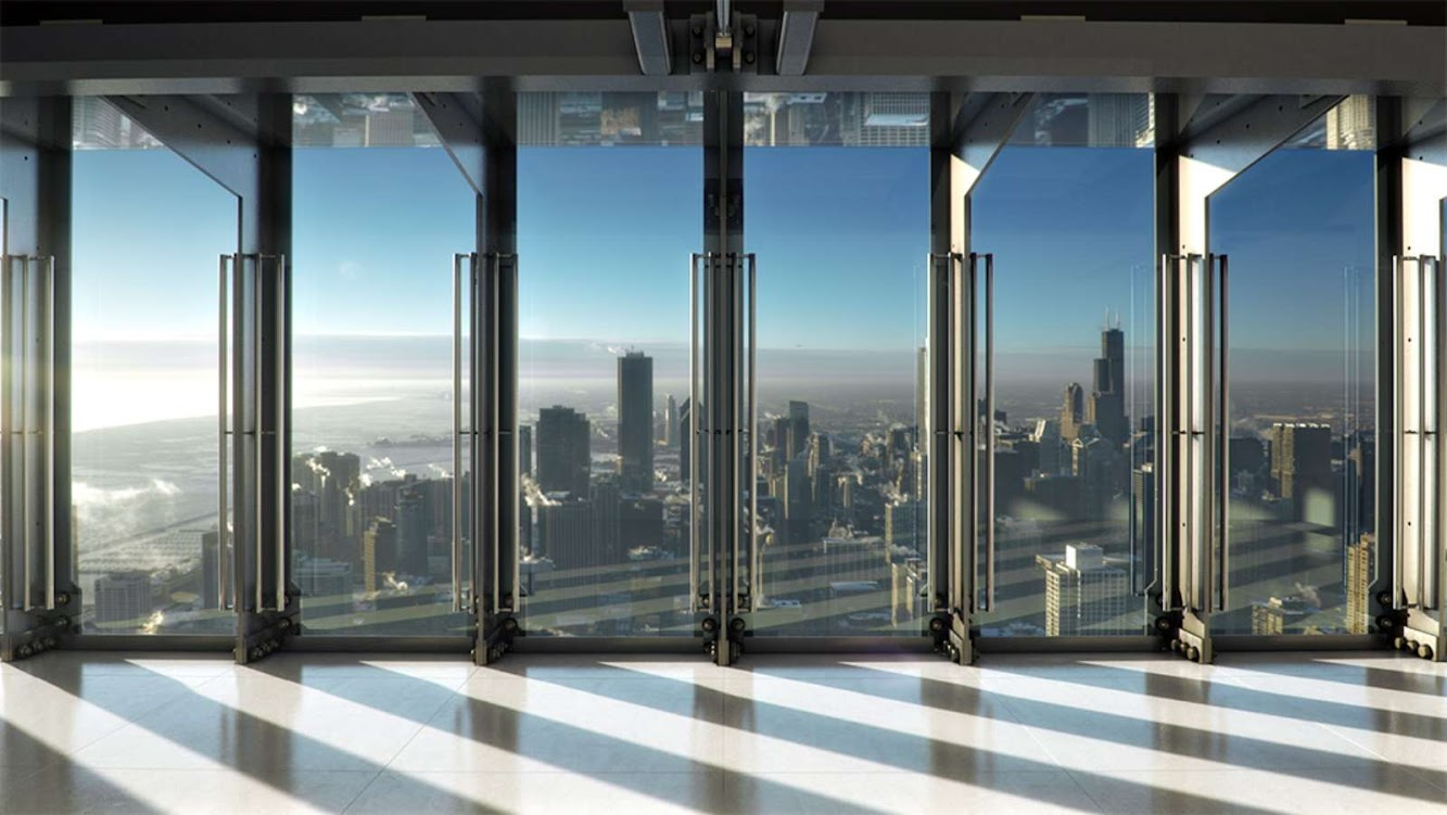 Chicago, Illinois, Stati Uniti: Hancock Center Next Open of Tilt by Thornton Tomasetti