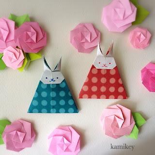 折り紙でひな人形