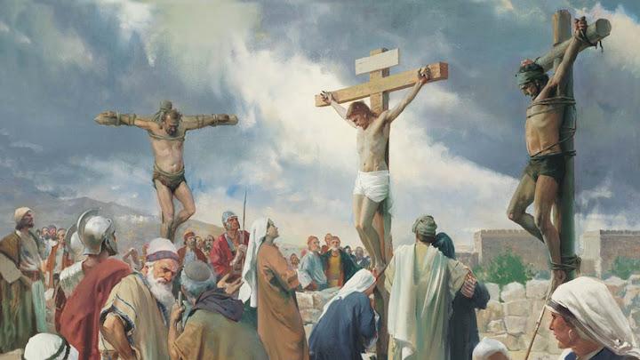 Lời đầu tiên trên Thánh Giá : Lời tha thứ