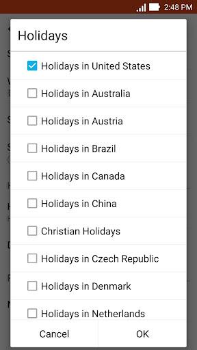 ASUS Calendar screenshot 8