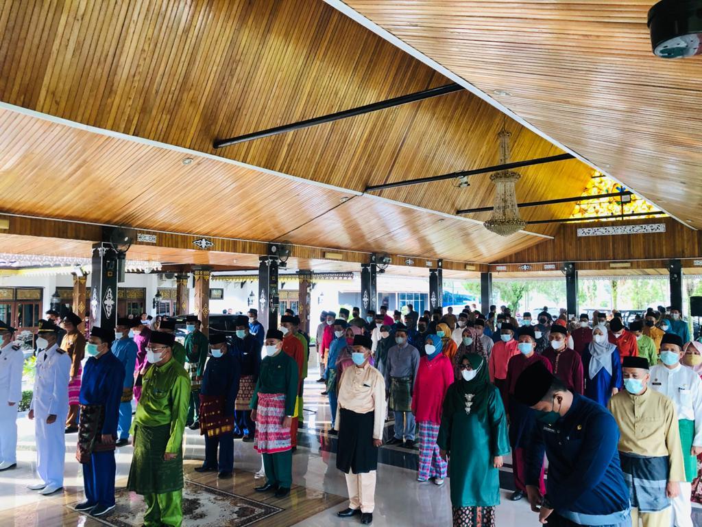 Wabup Bakhtiar Lantik 74 Pejabat Eselon lll yang Baru