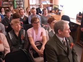Презентация сборника воспоминаний о солдатах Победы