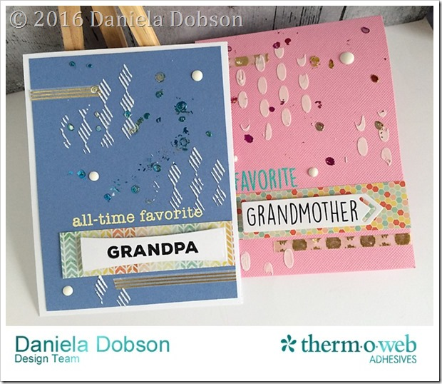 Grandparents cards by Daniela Dobson