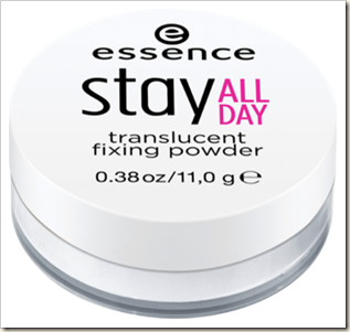 Essence Stay All Day Translucent Fixing Powder