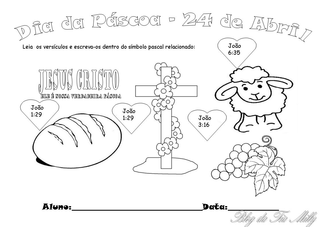 Suficiente Ministério Infantil Nazareno: PLANO DE AULA COMPLETO Páscoa 24 de  YZ57