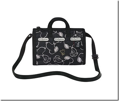 Peanuts X LeSportsac 3273 Shellie Crossbody 02