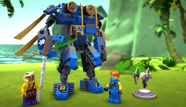 Đồ chơi trẻ em: Xếp hình Lego Ninjago 70754 Rô Bốt Điện ElectroMech