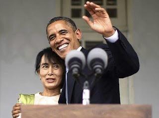 Birmanie: Aung San Suu Kyi se rend aux Etats-Unis.