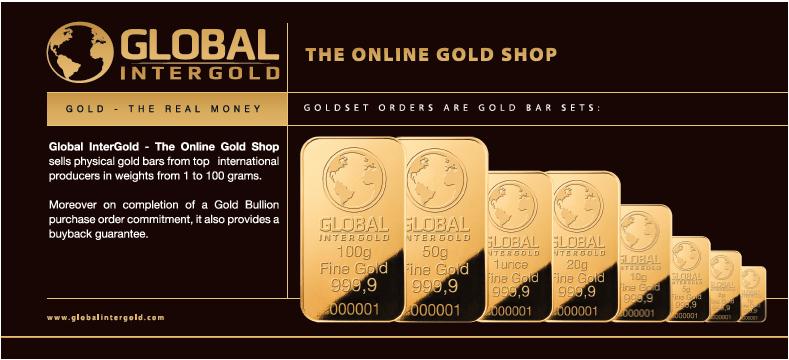 купить золото в интернет магазине