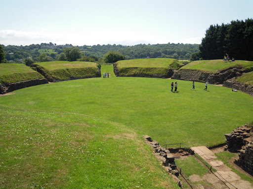 Roman Amphitheatre (Caerleon, Wales). From Best Museums in London and Beyond
