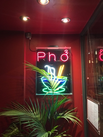Pho restaraurant Oxford Circus had delicious Pho and fast service!