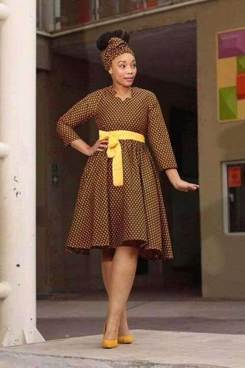 Ready to share shweshwe fashion and dresses 2018