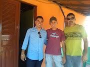 ROGÉRIO DO NESTOR REAFIRMA COMPROMISSO COM DR RAPHAEL SILVA E VISITAM COMUNIDADES DE LUIS CORREIA