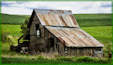 """Palouse Barn"" by Jeanne Phelps - 3d place A special"