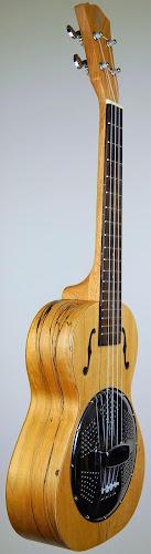 german chinese single cone resonator ukulele