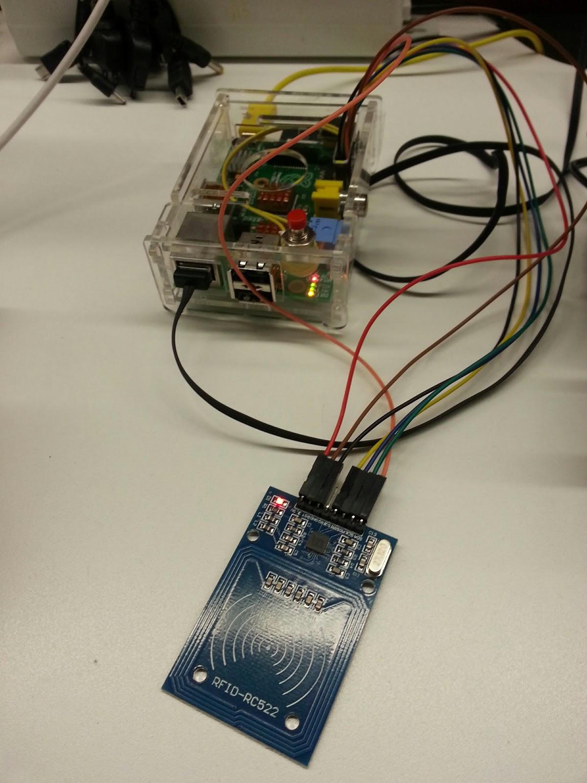 RASPMER: How to use RFID-RC522 on Raspbian