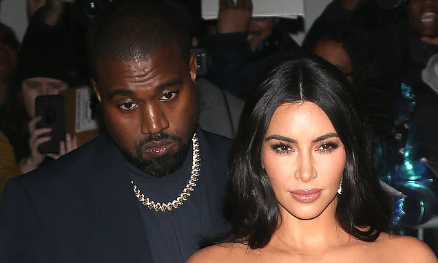 Kim Kardashian Suggests She's On Good Terms With Kanye West As She Wears His Yeezy Footwear