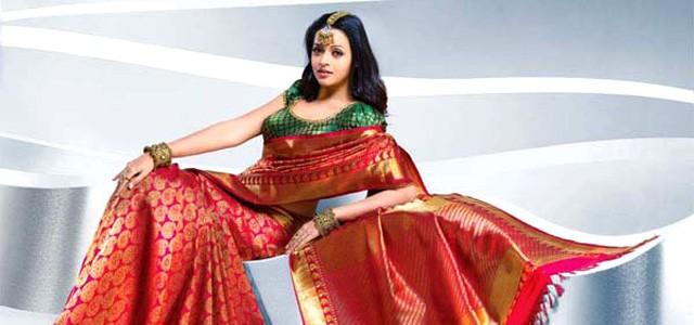 Bhavana-rare Unseen Saree collection