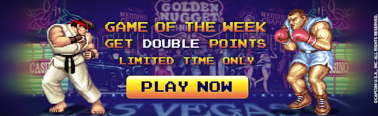 Golden Nugget Game of the week