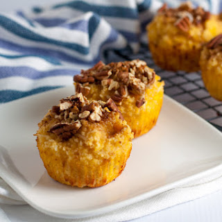 Paleo Pina Colada Muffins with Pecan Crumble