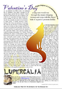 Cover of Leo Ruickbie's Book Valentines vs Lupercalia