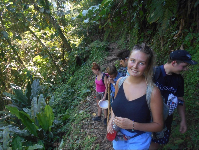 Trekking in Colombia
