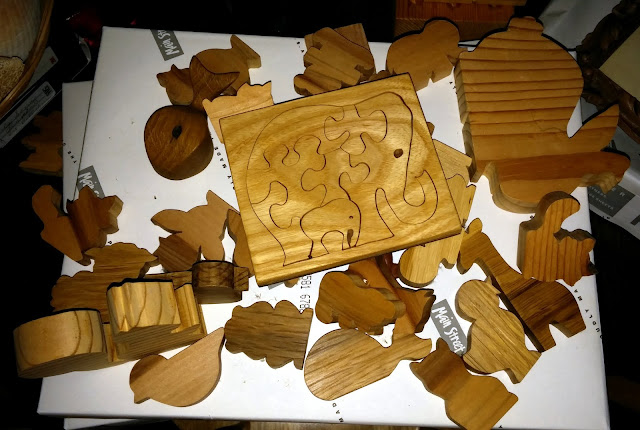 Animal Cutouts And A Tray Puzzle I Made In The '80s