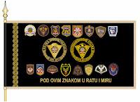 Zastave postrojbi Vojne policije