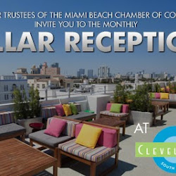 Pillar Reception at the Clevelander