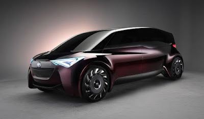 Toyota Fine-Comfort Ride concept minivan