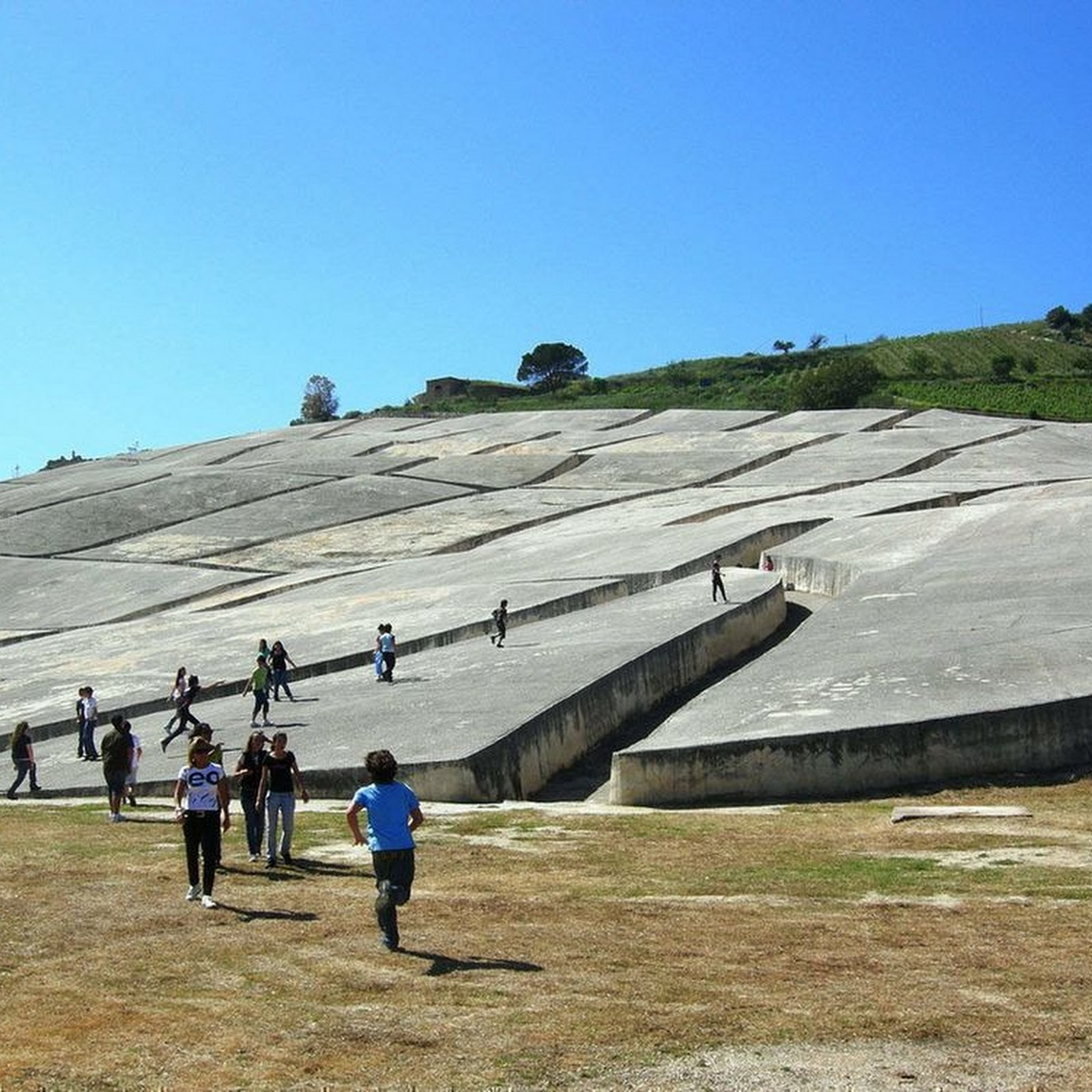 Cretto di Burri: The Concrete Labyrinth of Gibellina