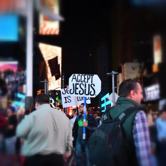 Accept Jesus