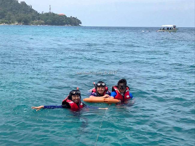 snorkeling best di pulau renggis tioman
