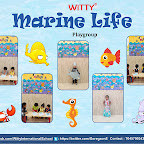 Fancy Dress - Marine Life by Playgroup Section (2018-19), Witty World, Goregaon East