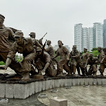 War Memorial of Korea in Seoul in Seoul, Seoul Special City, South Korea