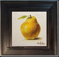 framed Quince 6x6 (2)