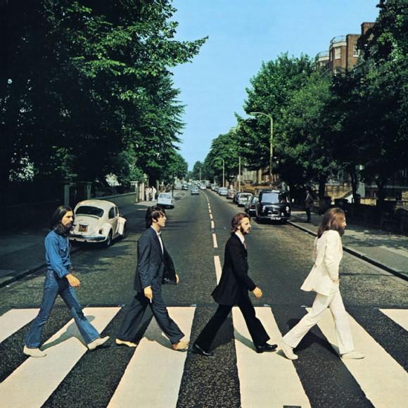 Foto 5 da sessão em Abbey Road, usada na capa do disco de mesmo nome