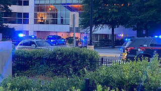 Lenox Square mall security officer in critical condition after being shot by two juveniles