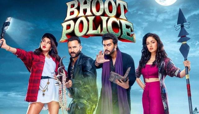 भूत पुलिस रिव्यू: सैफ अली खान अपनी फिल्म में लेकर आए क्रेजीएस्ट कॉमेडी का नया मजा  