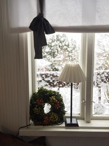 Pakkanen, joulu, kylmä kuisti