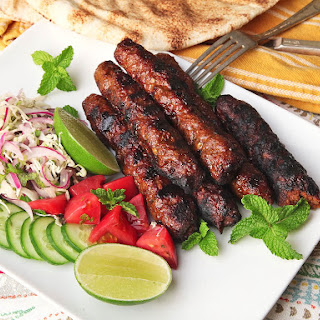 Seekh Kebabs (Pakistani Spicy Grilled Ground Meat Skewers)