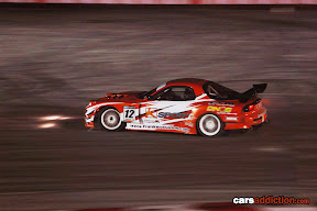 Shawn Spiteri with the only rotary engine in the Pro series