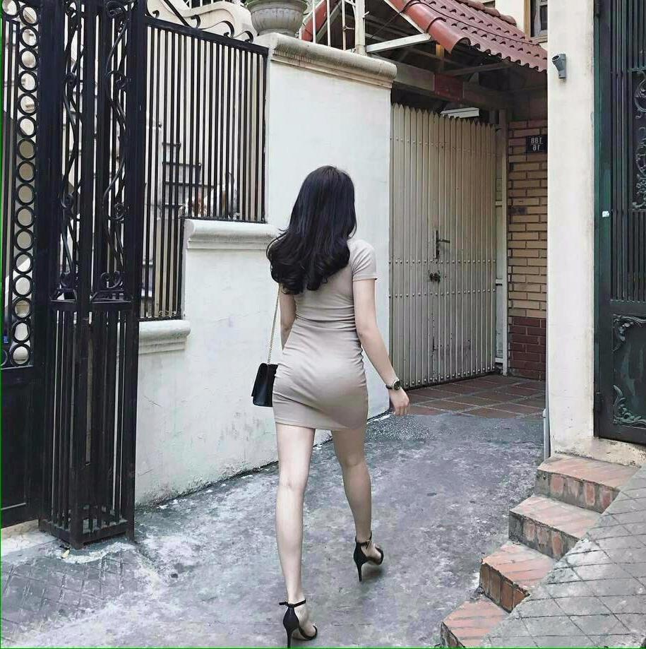 Mông đẹp của gái xinh