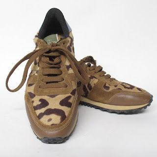 Valentino Garavani Pony Fur Sneakers