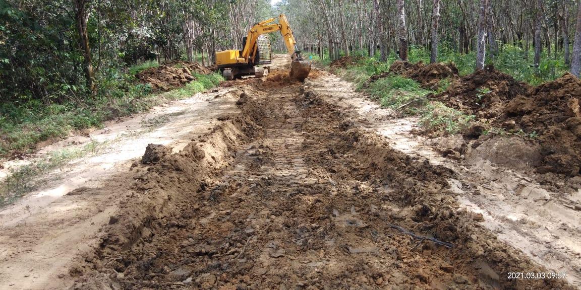 TMMD Kodim 1008/TJG di Desa Lok Batu Akan Jadi Jalan Penghubung Kabupaten