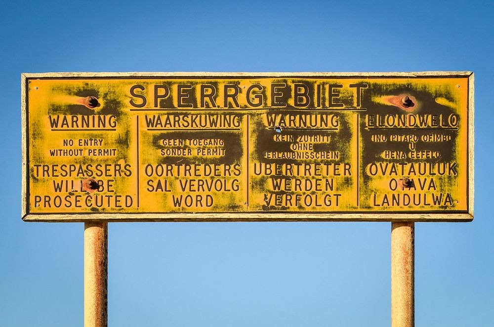 Sperrgebiet: O parque proibido que ninguém pode visitar