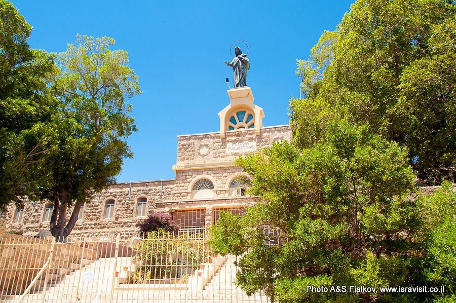 монастырь Дир Рафат, Израиль. Экскурсия гида Светланы Фиалковой.