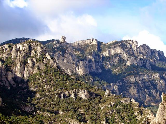 senderismo - Racó d'En Marc - Forat de la Vella