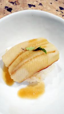 Anago sea eel sushi at Nodoguro SupaHardCore May 29, 2016