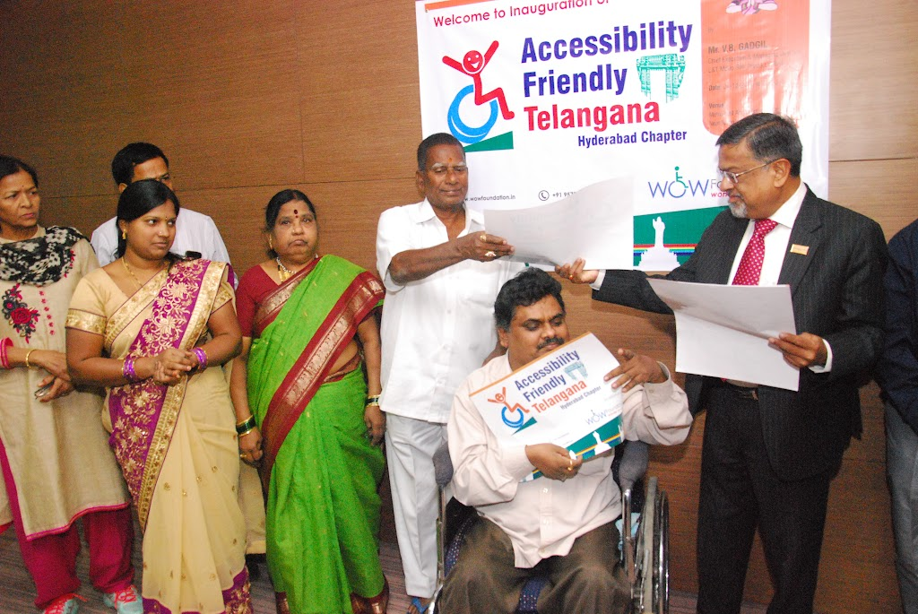 Launching of Accessibility Friendly Telangana, Hyderabad Chapter - DSC_1229.JPG